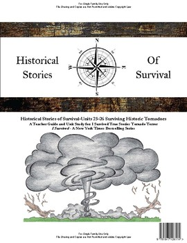 I Survived Study Units 25-26 Surviving Historic Tornadoes - Family License