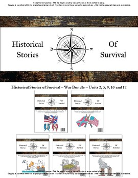I Survived Study War Bundle Units 2,3,9,10 and 12 - Co-op/School License