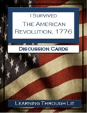 I Survived THE AMERICAN REVOLUTION, 1776 Discussion Cards