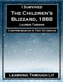I Survived THE CHILDREN'S BLIZZARD, 1888 - Comprehension & Text Evidence