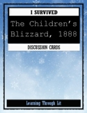 I Survived THE CHILDREN'S BLIZZARD, 1888 * Discussion Cards