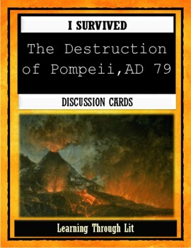 I Survived THE DESTRUCTION OF POMPEII, AD 79 - Discussion Cards