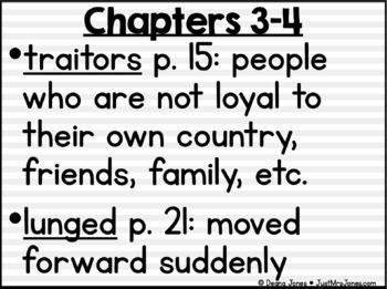 I Survived The American Revolution, 1776 Vocabulary Presentation