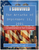 I Survived The Attacks of September 11, 2001 - Comprehension & Text Evidence