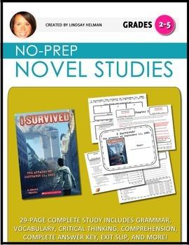 I Survived: The Attacks of September 11, 2001 NO-PREP Novel Study