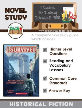 I Survived The Attacks of September 11, 2001 {Novel Study, Common Core, & More}