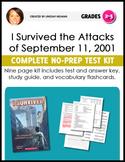 I Survived: The Attacks of September 11, 2001 NO-PREP Nove