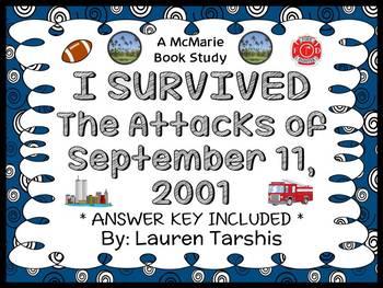 I Survived The Attacks of September 11, 2001 Novel Study / Reading Comprehension