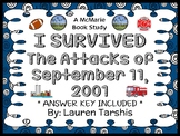 I Survived The Attacks of September 11, 2001 Novel Study /