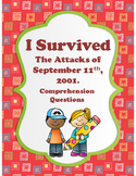 I Survived The Attacks of September 11th, 2001 - Comprehension Questions