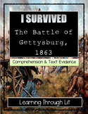 I Survived The Battle of Gettysburg, 1863 - Comprehension & Citing Evidence