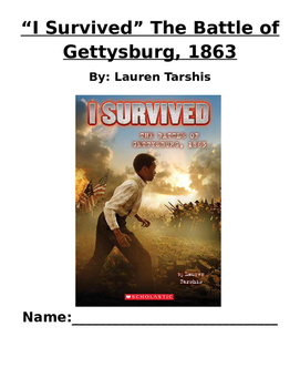 Book Club I Survived The Battle of Gettysburg (Lauren Tarshis)