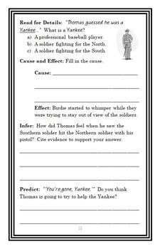 I Survived The Battle of Gettysburg, 1863 Novel Study / Reading Comprehension