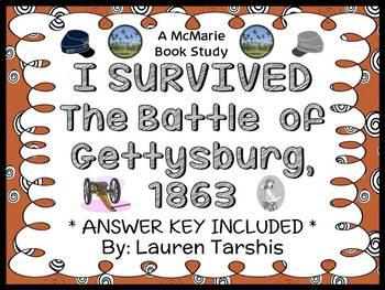 I Survived The Battle of Gettysburg, 1863 (Lauren Tarshis) Novel Study (41 pgs)
