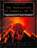 I Survived The Destruction of Pompeii, AD 79 - Comprehension & Citing Evidence