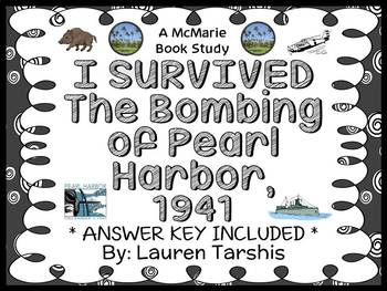 I Survived The Bombing of Pearl Harbor, 1941 Novel Study / Reading Comprehension