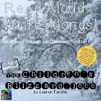 I Survived The Children's Blizzard, 1888 Read Aloud Write Along