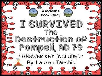 I Survived The Destruction of Pompeii, 79 A.D. (Lauren Tarshis) Novel Study