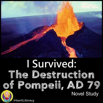 I Survived The Destruction of Pompeii AD 79 Novel Study