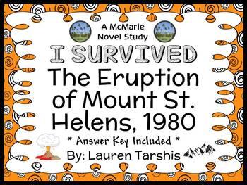 I Survived The Eruption of Mount St. Helens, 1980 (Lauren Tarshis) Novel Study