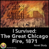 I Survived The Great Chicago Fire 1871 Novel Study