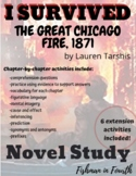 I Survived The Great Chicago Fire, 1871 Novel Study