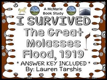I Survived The Great Molasses Flood, 1919 (Lauren Tarshis) Novel Study  (30 pgs)