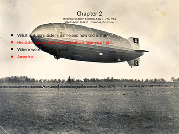 I Survived The Hindenburg Disaster, 1937