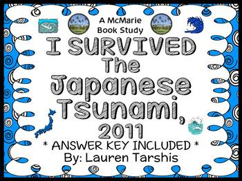 I Survived The Japanese Tsunami, 2011 (Tarshis) Novel Study / Comprehension