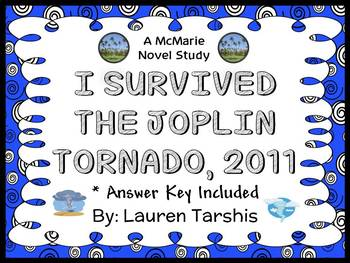 I Survived The Joplin Tornado, 2011 (Lauren Tarshis) Novel Study / Comprehension