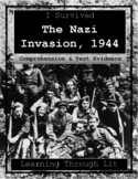 I Survived THE NAZI INVASION, 1944 Comp & Text Evidence DI