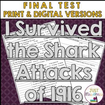 I Survived The Shark Attacks of 1916 Final Test