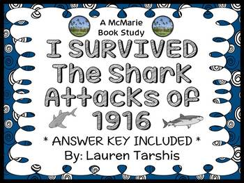 I Survived The Shark Attacks of 1916 Novel Study / Reading Comprehension