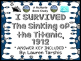 I Survived The Sinking of The Titanic, 1912 (Lauren Tarshis) Novel Study