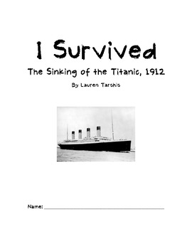 I Survived The Sinking of The Titanic Reading Guide