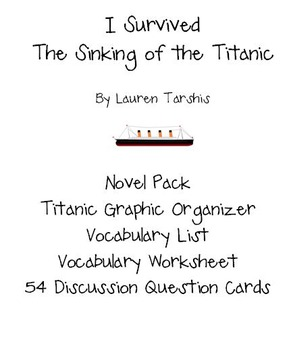 """""""I Survived: The Sinking of the Titanic"""" Novel Pack"""