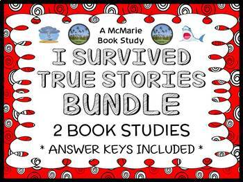I Survived True Stories BUNDLE : 2 Book Studies / Reading