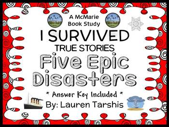 I Survived True Stories: Five Epic Disasters (Tarshis) Book Study (40 pages)