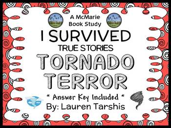 I Survived True Stories: Tornado Terror (Lauren Tarshis) Book Study  (19 pages)