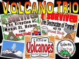 I Survived Volcano Trio Pack