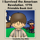I Survived the American Revolution, 1776 Novel Study: vocabulary, comprehension