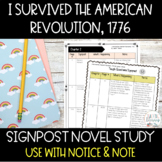 Notice & Note Signpost Guide-I Survived the American Revol