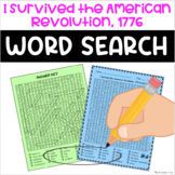 I Survived the American Revolution, 1776 Word Search