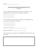 I Survived the American Revolution 1776 worksheets (all ch