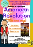 I Survived the American Revolution - KWL & Questions - wit
