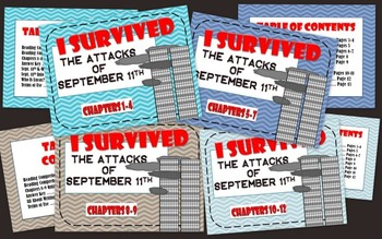 I Survived the Attacks of S... by Becky Blair | Teachers Pay Teachers