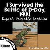 I Survived the Battle of D-Day, 1944 [Lauren Tarshis] Digital + Printable Unit