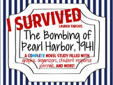 I Survived the Bombing of Pearl Harbor, 1941: A Complete Novel Study!