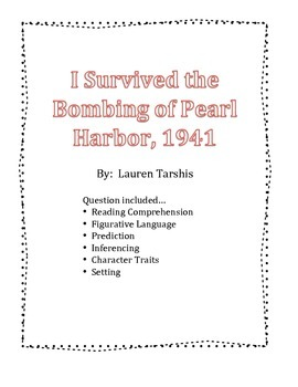 I Survived the Bombing of Pearl Harbor, 1941 - Book Questions