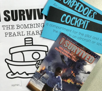 I Survived the Bombing of Pearl Harbor Book Study